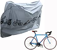 Cisixin Waterproof Snow Proof UV Protective Cycle Bike Bicycle Cover for Mountain Road Electric and Cruiser Bi