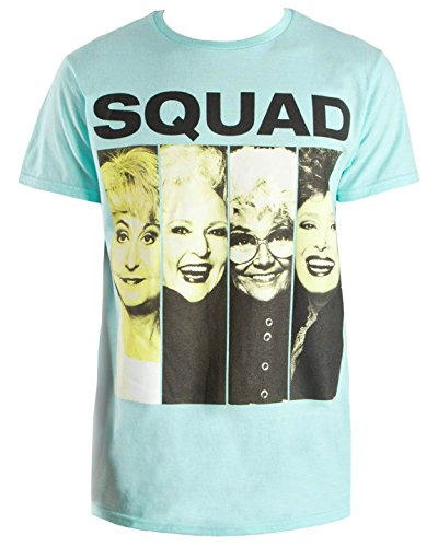 Fashion Golden Girls Squad Celadon Green Graphic T-Shirt - Medium -