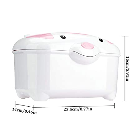 SUPERLOVE MZ-0942 Toallitas Húmedas Calentador Bebé Termostato Portátil Mini Calentador De Aislamiento Automático Moderno Conveniente: Amazon.es: Hogar