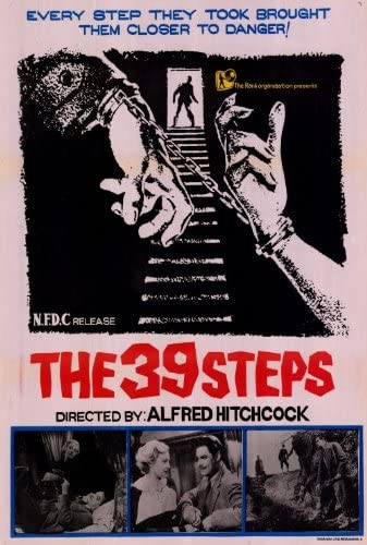 Amazon.com: The 39 Steps Movie Poster (27 x 40 Inches - 69cm x ...