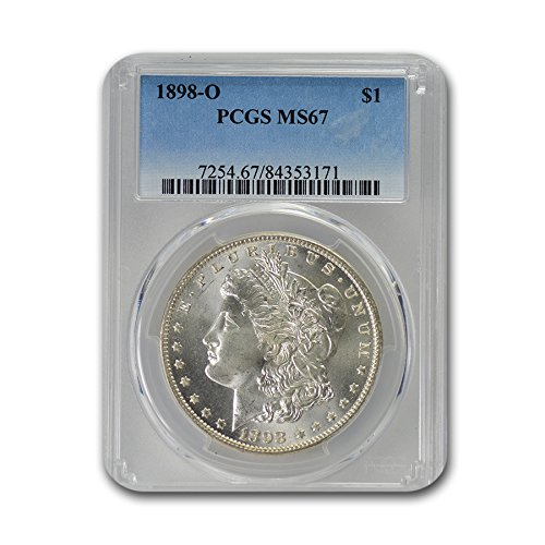 1898 O Morgan Dollar MS-67 PCGS $1 MS-67 PCGS