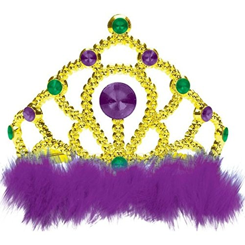 Mardi Gras Party Tiara -