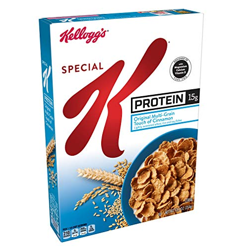 Kellogg's Special K Protein, Breakfast Cereal, Bulk Size, 125 oz (Pack of 10, 12.5 oz Boxes) ()