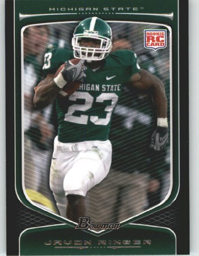 2009 Topps Draft Picks - Javon Ringer RC - Michigan State (RC - Rookie Card) 2009 Bowman Draft Picks Football Cards #127 - NFL Trading Card