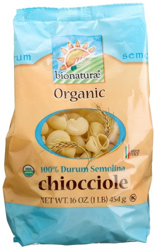 - bionaturae Organic Chiocciole, 16-Ounce Bags (Pack of 6)