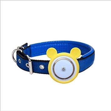 SHIHUIJUAN Mascota Collar GPS Localizador, Localizador Anti-Perdida Anti-Robo De Dispositivos De Alarma,Talla única Perros Y Gatos,Yellow: Amazon.es: Hogar