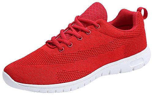 Joomra Centre De Remise En Forme Unisexe Ou Parc Chaussures Jogging # 1 Rouge