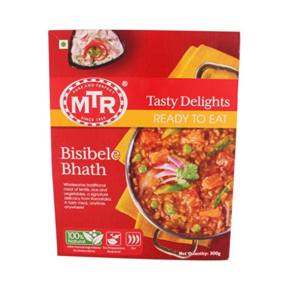 MTR Ready to Eat Bisibelebath, 300g