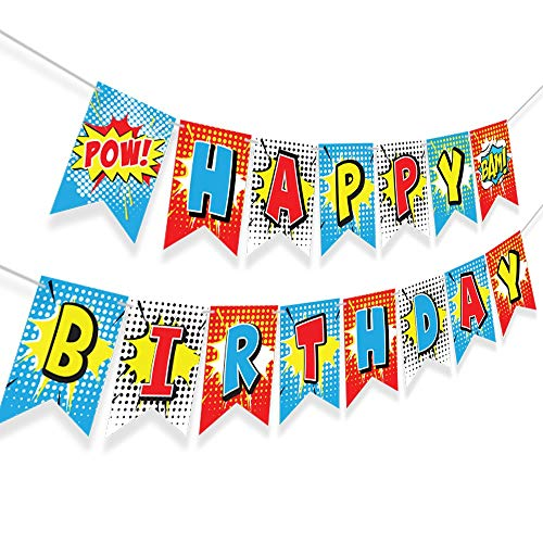 Super hero party supplies birthday - Superhero party supplies - Teen Titans go Party Supplies - superhero backdrop - super mario party - superhero cake toppers - superhero invitations birthday - super smash bros ultimate - dc super hero girls party supplies - wonder woman party supplies - superman party decorations - red happy birthday decorations - bright birthday decorations - captain underpants party supplies