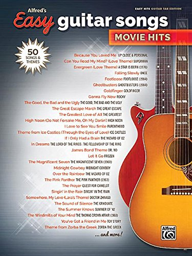 Alfred's Easy Guitar Songs -- Movie Hits: 50 Songs and Themes ()