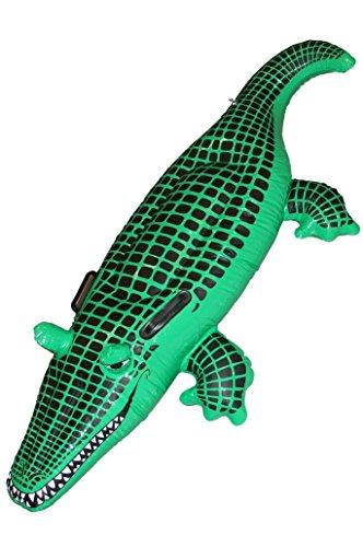 [Smiffy's Inflatable Crocodile, Green, Plastic, 55inches, 29134] (Smiffys Crocodile Costume)