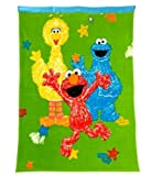 Sesame Street Toddler Blanket - Elmo & Friends