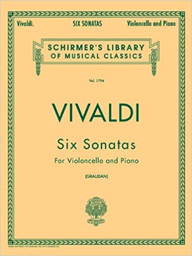 Schirmer Library of Classics Volume 1794 Cello and Piano Schirmer Library of Classics Volume 1794