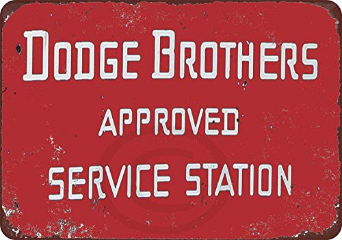 Fireworksss Dodge Brothers Cars Approved Service Station Reproduction Metal Sign 8 x 12