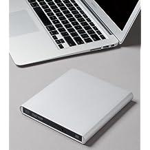 Aluminum External USB Blu-Ray Writer Super Drive for Apple--MacBook Air, Pro, iMac