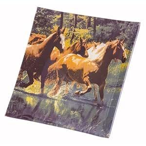 Running Wild Horses Glass Plate