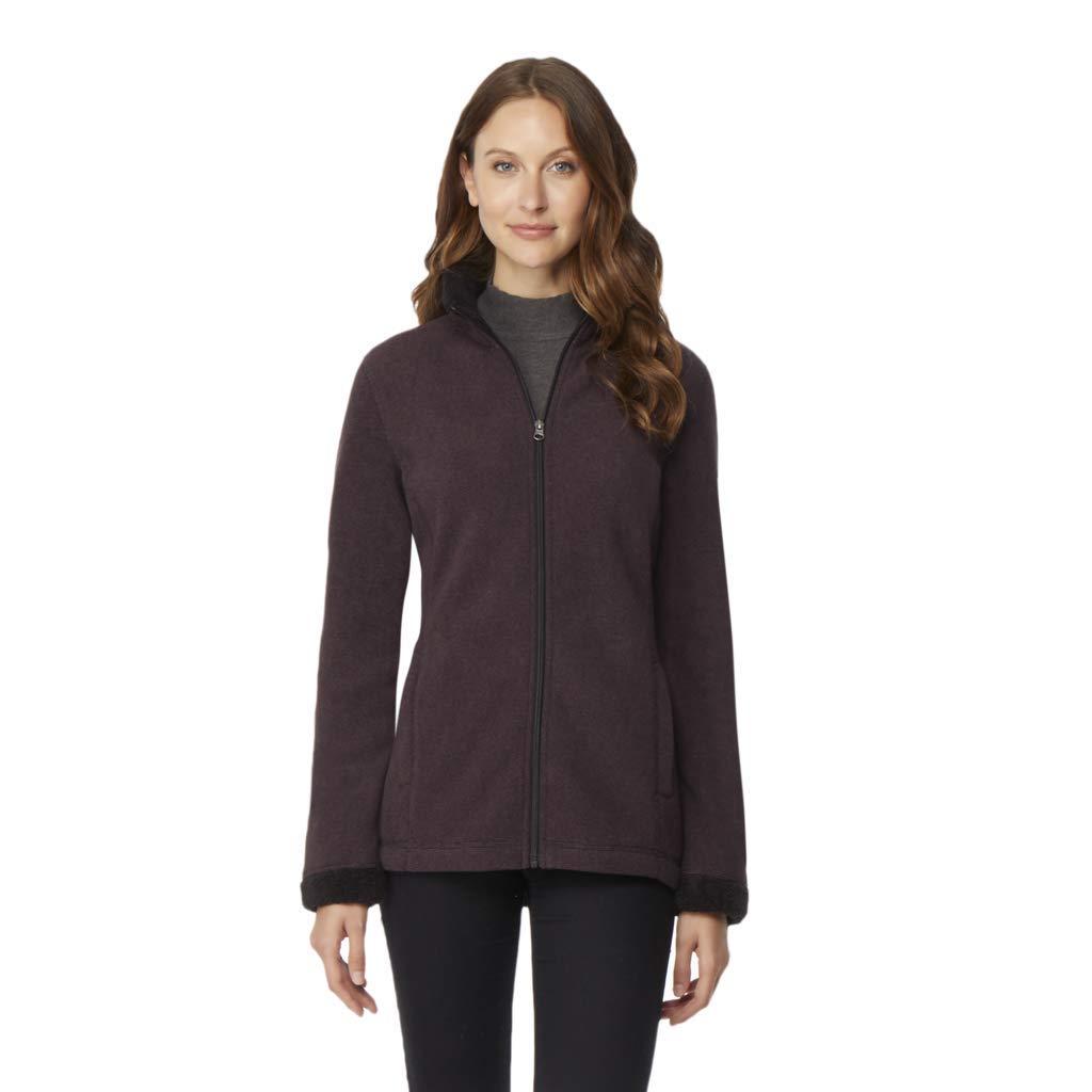 32 DEGREES Womens Sherpa Fleece Jacket