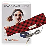 Cheap RunPhones Classic Exercise Headphones   Ideal for All Workouts   Precise Sound, Slim Speakers In a Moisture-Wicking Headband  New Model 2017
