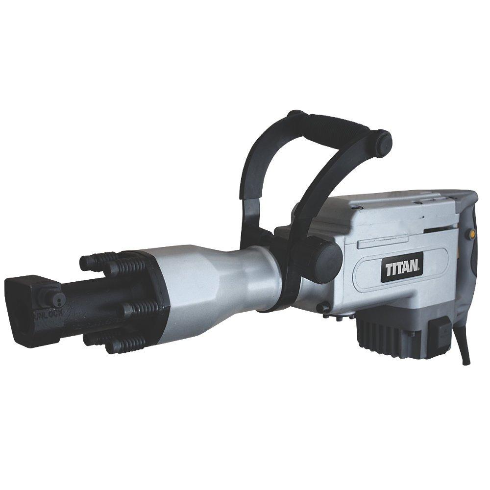 Titan Ttb280drh 15 5kg Hex Shank Breaker 230v Diy 700 Power Driver Ridgid 41940 Tools
