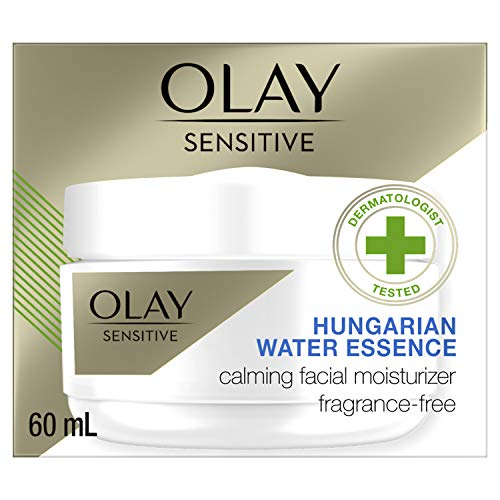 Calming Face Moisturizer by Olay Sensitive, Fragrance-Free, 2 oz.