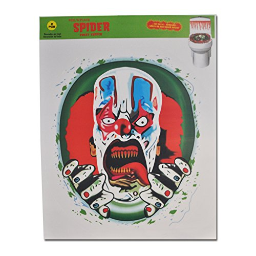 Halloween Decoration Toilet Seat Cover Scary Fancy Dress Horror Party (Evil Clown) (Bathroom Sets Canada)