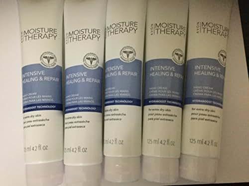 Avon Moisture Therapy Intensive Healing & Repair Hand Cream Lot of 5 125ml 4.2fl