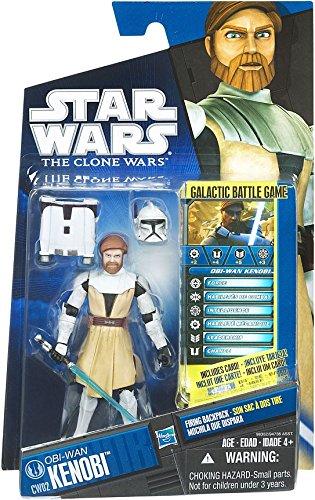 Star Wars 2010 Clone Wars Animated Action Figure CW No. 02 ObiWan Kenobi