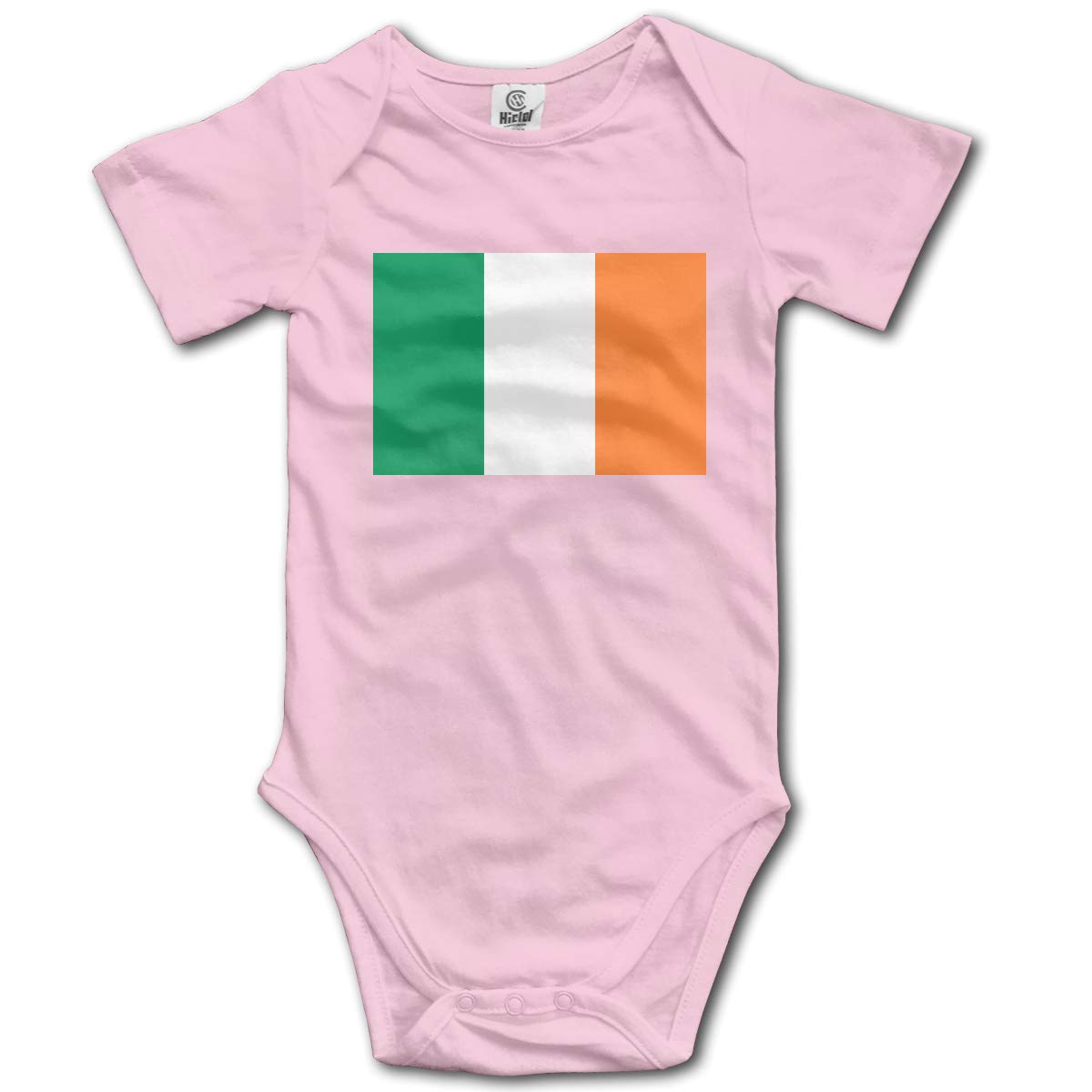 CUTEDWARF Baby Short-Sleeve Onesies Flag of Ireland Bodysuit Baby Outfits