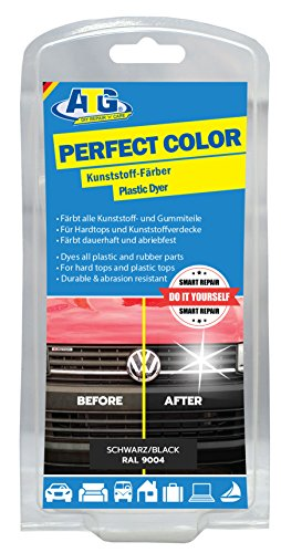 ATG Plastic Trim Restorer and Dye Black - Gives Rubber, Vinyl and Plastic New Life & Brings Back The Shine!