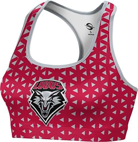 ProSphere Women's University of New Mexico Geometric Sports Bra
