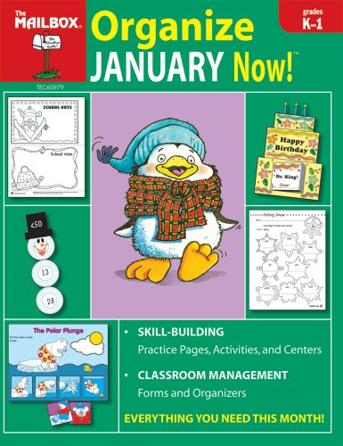 Organize January Now! (Grs. K-1) (Book Mailbox 1)