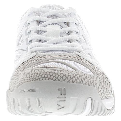 Silver Vapor Blue Cage Athletic Mesh Women's Metallic Fila White Sneakers Delirium qC7afv