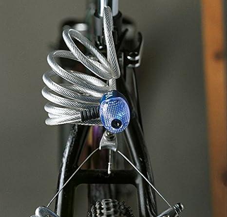 Cerradura de cable trenzada de alta calidad IBIZA PLATA ...