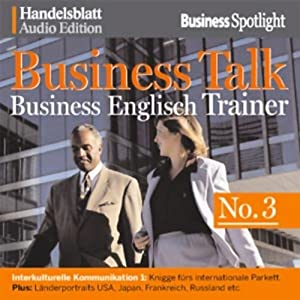 Business Talk English Vol. 3 Hörbuch