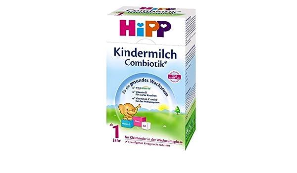 leche para bebés Hipp Bio Combiotik - de 1 año, 12 Pack (12 x 600g): Amazon.es: Alimentación y bebidas