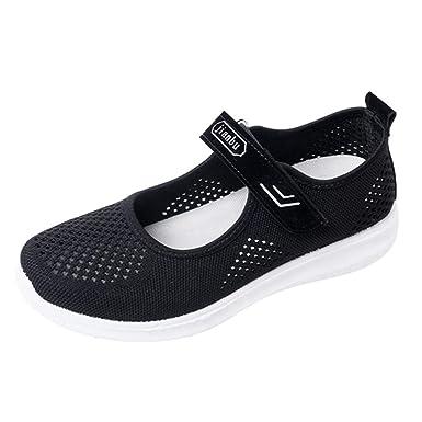 DAYLIN Shoes - Zapatillas de Running de Malla para Mujer Negro ...