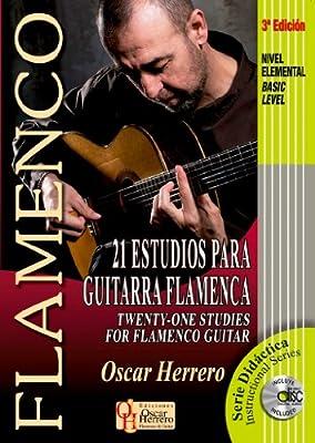 21 ESTUDIOS PARA GUITARRA FLAMENCA Nivel Elemental Libro de ...