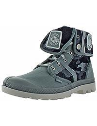 Palladium Pallabrouse Baggy Men's Canvas Combat Ankle Boots