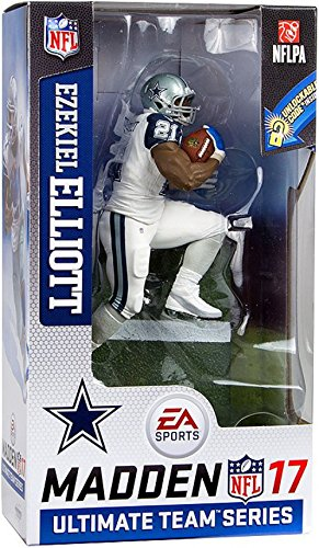 McFarlane Toys NFL Madden 17 Ultimate Team Series 2 Dallas Cowboys RB - Ezekiel Elliott - Color Rush Uniform CHASE!
