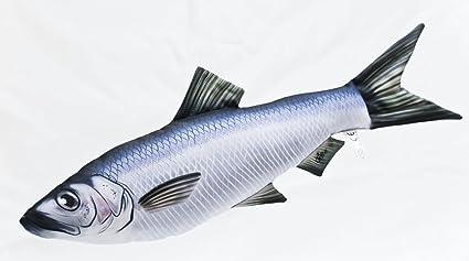 Gaby Cojín Pescado Hering 35 cm Manta Peces kuscheltie ...
