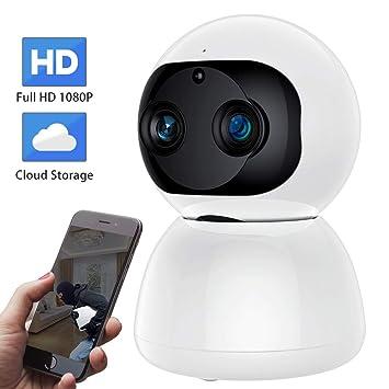 Amazon.com: SDETER 1080P WiFi Cámara Inteligente para el ...