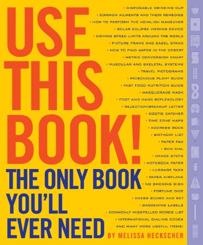 Use This Book!: The Only Book You'll Ever (Information About Vampires)