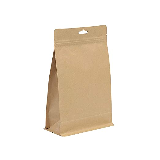 Bolsa de Papel 20 Piezas Stand Up Cereal Zip Lock Galletas ...