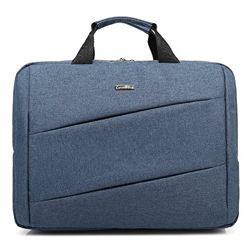 Bronze Times(TM) Laptoptasche / Tablet mit Bildschirmdiagonale 15,6 Zoll / 39,6 cm Blau