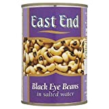 East End Black Eye Beans in Brine 400g - Pack of 6