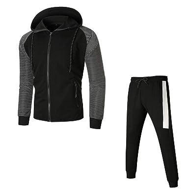 Zilosconcy Moda Breve Conjuntos de Pantalones de Sudadera con ...