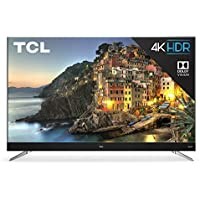 TCL 55 Inch 4K ULTRA HD HDR 2160p Smart Roku 120Hz LED TV 55C803