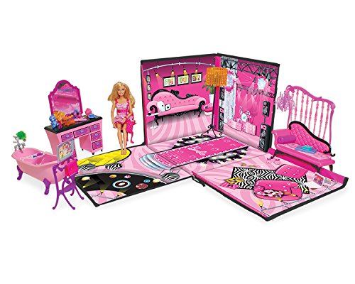 Barbie Zipbin 40 Doll Dream House Toy Box Amp Playmat Your
