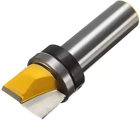 ZUQIEE Drill Drill Shank Mortise Template Flush Trim Router Bit 1//2 Inch Drill Accessories
