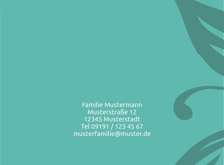 Kartenparadies Geburtskarte Babykarte Blaume, Blaume, Blaume, hochwertige Babykarte zur Geburt inklusive Umschläge   20 Karten - (Format  148x105 mm) Farbe  DunkelGrün B01N4TXZOB | Stabile Qualität  | Flagship-Store  | Sonderpreis  4f522b